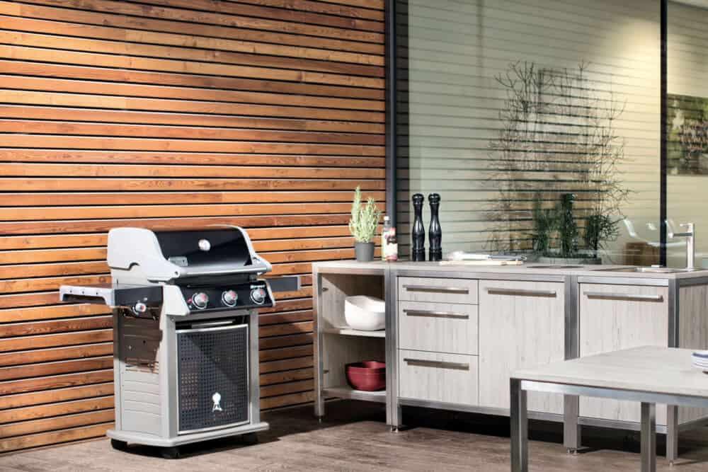 Burnout-Outdoor-Küchen-Modul-Griffstangen-Küchenspüle