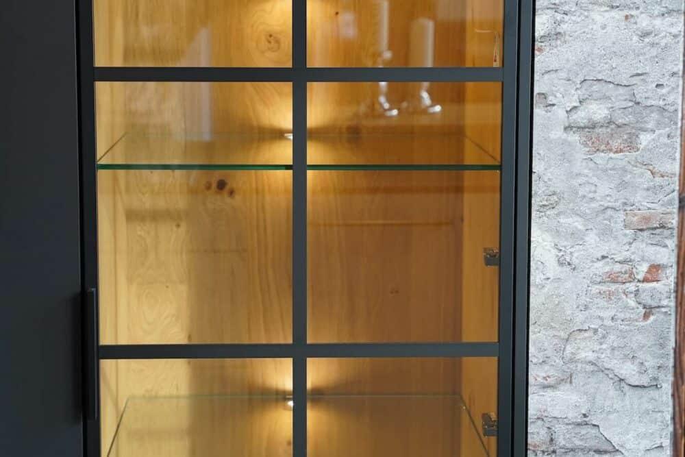 Glas Wandschrank Industrial Style Ballerina Küchen
