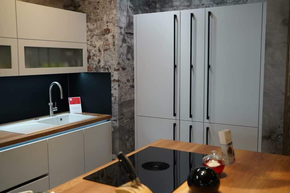 Insel küche hochglanz Lack mit Küchenzeile