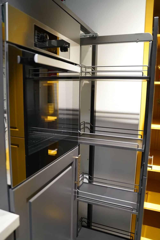 Auszüge Schranktür Bauformat Küchenzeile
