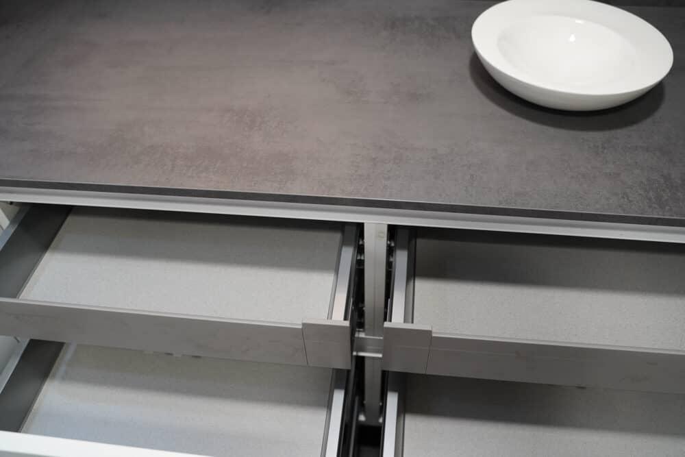 Auszüge Schubladen U-Form Küche