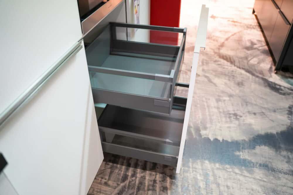 Auszug Stauraum Bauformat L-Küche