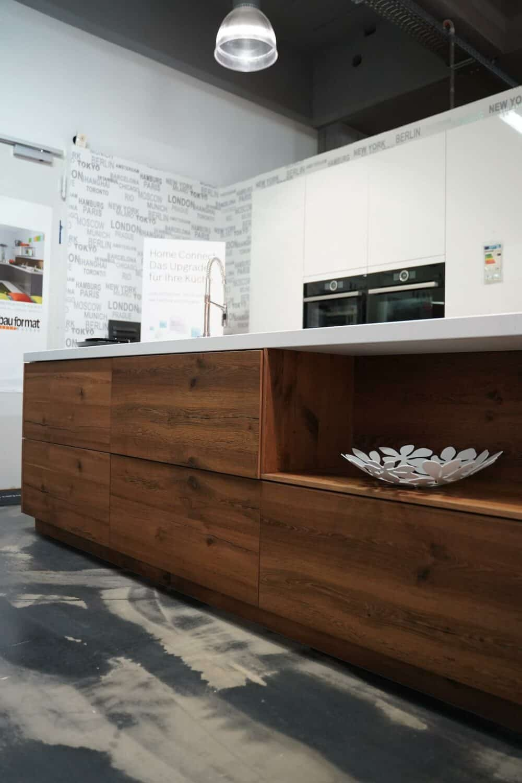 Ballerina Design Küche mit Küchen Insel