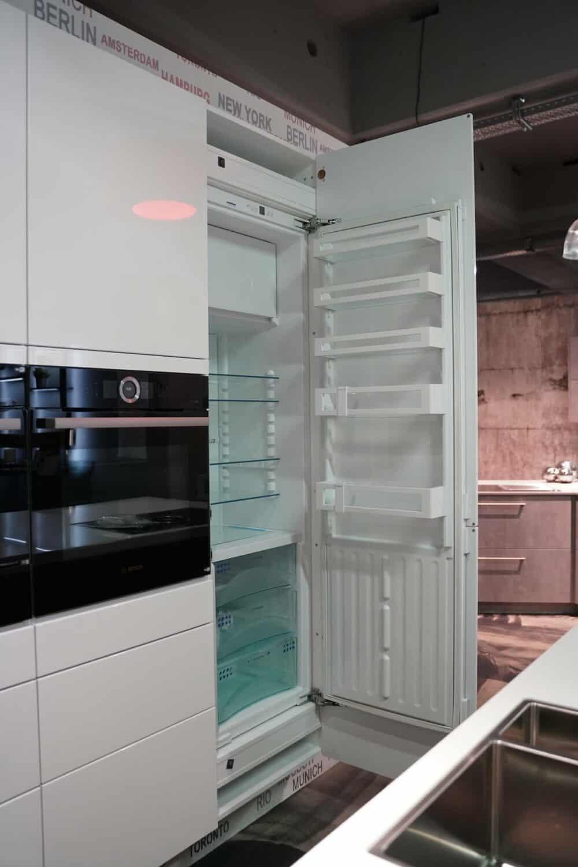 Ballerina Designküche Liebherr Einbau Kühlschrank
