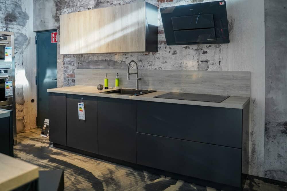 Bauformat Design Küchenzeile matt lack