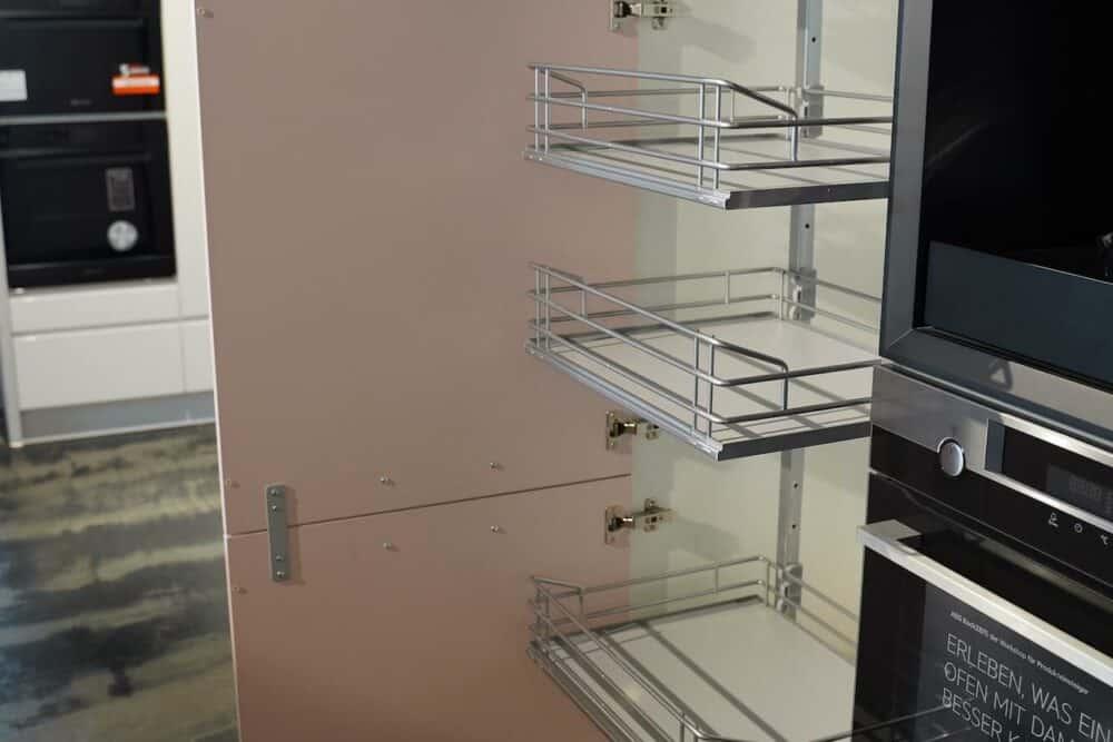 Bauformat Inselküche Wandschrank mit Auszügen