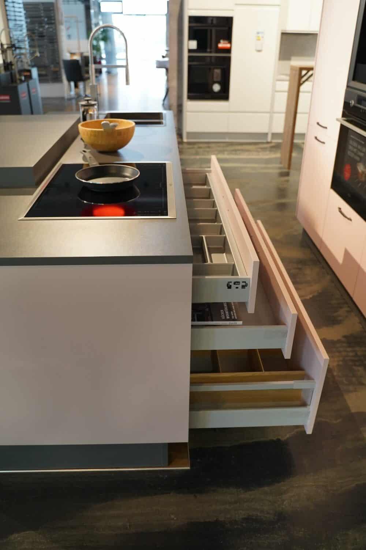 Bauformat Kücheninsel Schubladen Stauraum