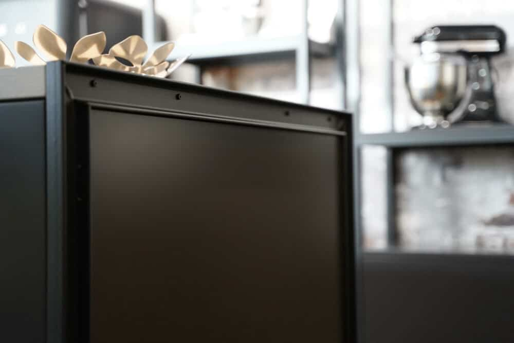 Bauformat Kücheninsel metall rahmen industrial style