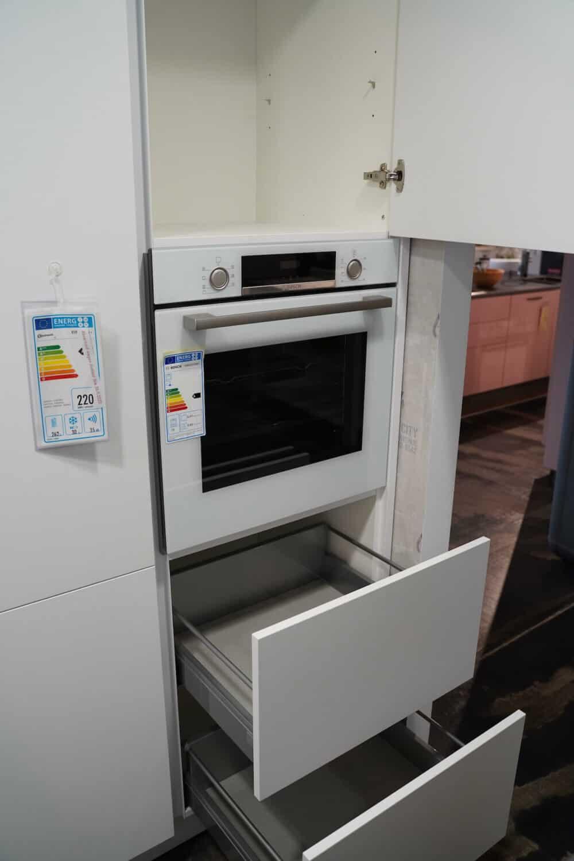 Bosch Einbaubackofen weiß modern