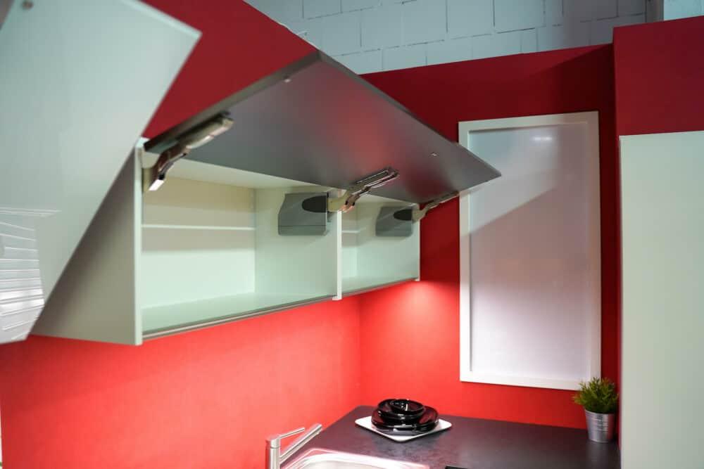 Oberschrank Bauformat L-Küche modern
