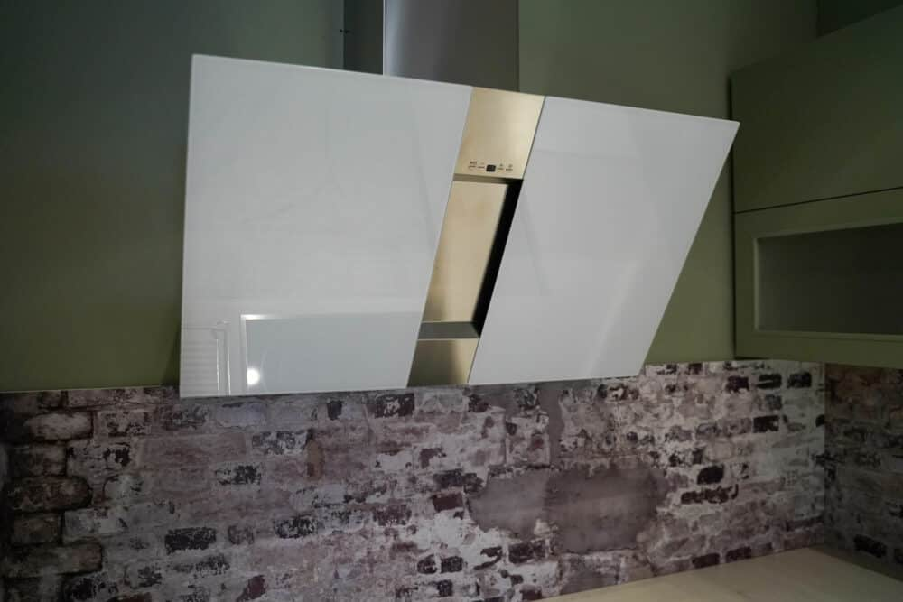 Silverline Kopffreihaube design glas weiß